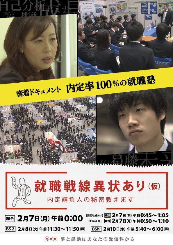 NHK「ドキュメント20min.」